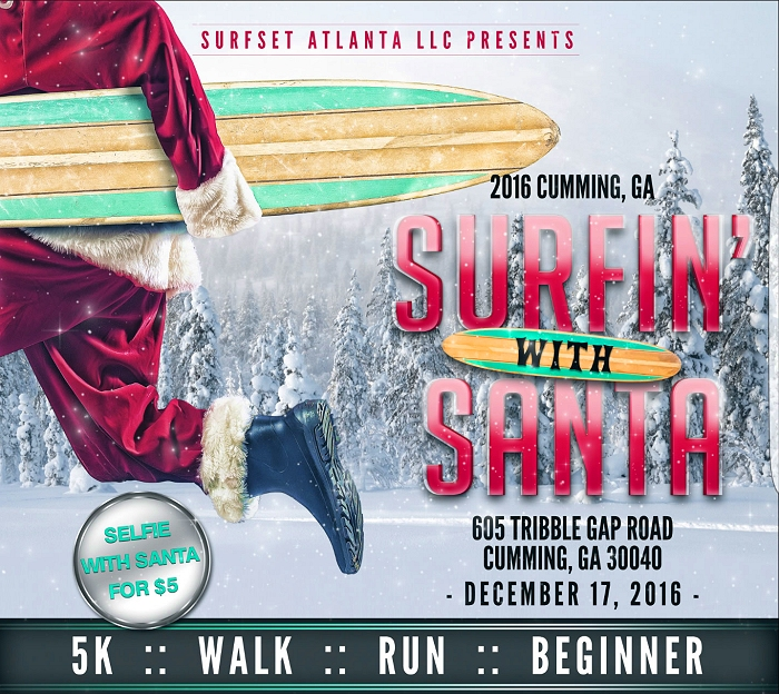 Click me! Surfin with Santa 5K 2016