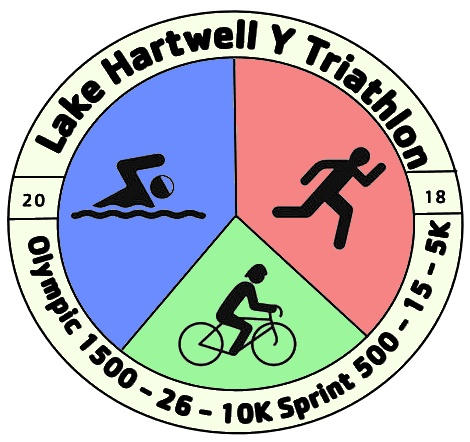 Click me! Lake Hartwell Y Tri Olympic and Sprint Triathlon 2018