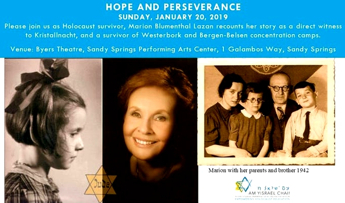 Click me! Am Yisrael Chai Hope and Perseverance Event 2019