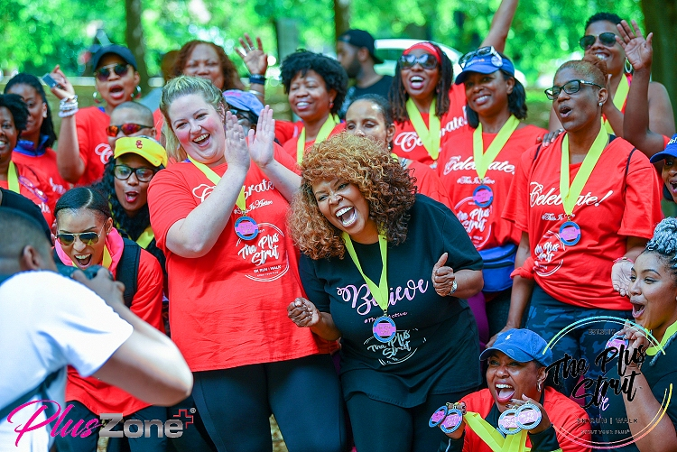 Click me! The Plus Strut 5K run walk 2019