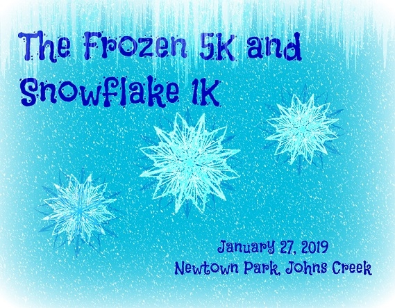 Click me! Frozen 5K and Snowflake 1K 2019