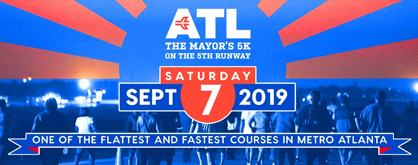 Click me! Mayor's 5K on the 5th Runway 2019