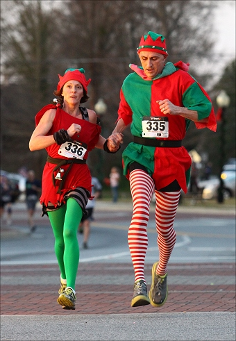 Click me! Faith Cline Elf Trot and Merry Mile 2015
