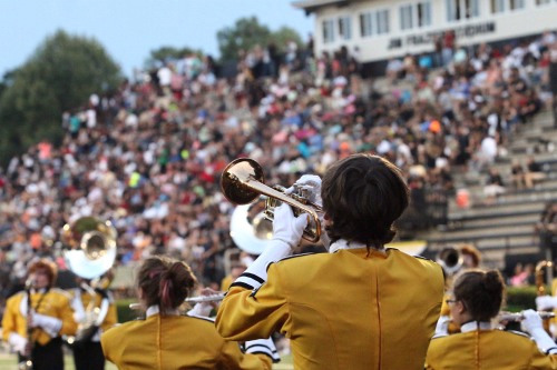 Click me! Sprayberry Band First Game 8-21-2015